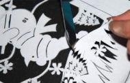 Трафареты на окна к Новому году 2019 для вырезания
