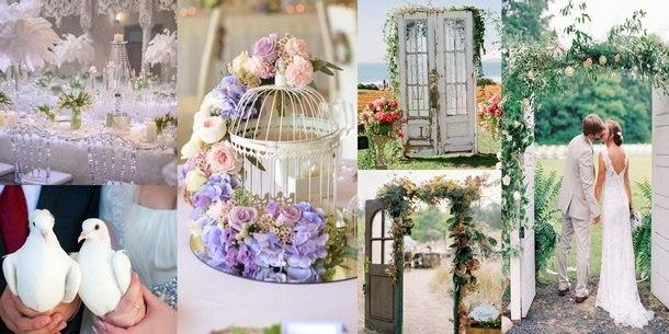 модные украшения свадьбы