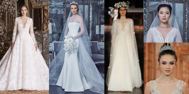 модные платья на свадьбу